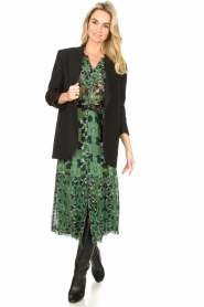 ba&sh |  Floral midi dress Hooper | green  | Picture 3