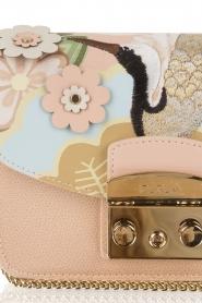 Furla | Leren schoudertas Metropolis Mini verwisselbare flap | roze  | Afbeelding 5