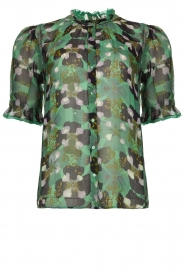 ba&sh |  Floral blouse Havanna | green  | Picture 1