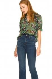 ba&sh |  Floral blouse Havanna | green  | Picture 2