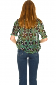 ba&sh |  Floral blouse Havanna | green  | Picture 6