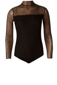 Style Butler | Kanten body Karlie | zwart  | Afbeelding 1