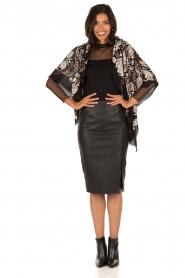 Style Butler | Kanten body Karlie | zwart  | Afbeelding 3