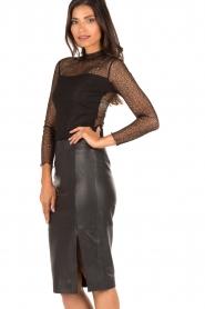 Style Butler | Kanten body Karlie | zwart  | Afbeelding 4