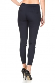 Set |  Luxurious tight fitted pants Meina | dark blue  | Picture 5