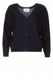 ba&sh |  Button-up cardigan Hunter | blue  | Picture 1