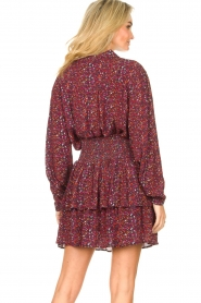 Les Favorites |  Blouse with print Molly | red  | Picture 7