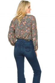 ba&sh :  Floral blouse Jet | blue - img6