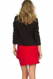 Kocca |  Skirt with ruffles Katia | red  | Picture 5