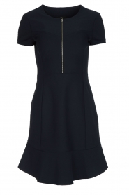 Set |  Stretch dress Loralie | dark blue  | Picture 1