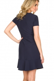 Set |  Stretch dress Loralie | dark blue  | Picture 5