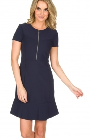 Set |  Stretch dress Loralie | dark blue  | Picture 2