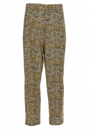 Kocca |  Wide leg leopard print trousers Boise | animal print  | Picture 1