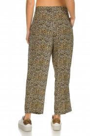 Kocca |  Wide leg leopard print trousers Boise | animal print  | Picture 5