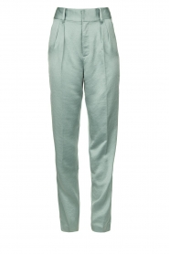 ba&sh |  Satin trousers Wonka | light blue  | Picture 1