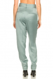 ba&sh |  Satin trousers Wonka | light blue  | Picture 6