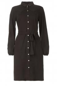 Aaiko |  Midi dress Aimes | black  | Picture 1