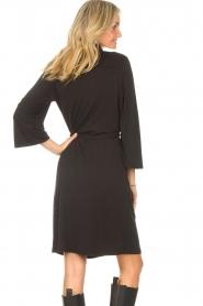 Aaiko |  Midi dress Aimes | black  | Picture 7