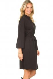 Aaiko |  Midi dress Aimes | black  | Picture 6