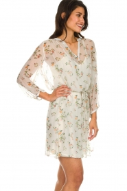 Kocca |  Dress with floral design  Aloe | print  | Picture 5