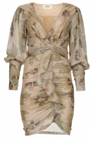 ba&sh |  Lurex ruffle dress Lizie | gold  | Picture 1