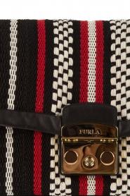 Furla | Geborduurde schoudertas Metropolis | rood  | Afbeelding 5