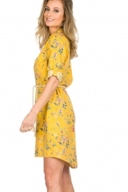Kocca |  Floral dress Illiade | yellow  | Picture 5