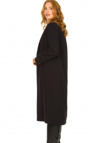 ba&sh |  Long luxury coat Pati | black  | Picture 6