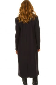 ba&sh |  Long luxury coat Pati | black  | Picture 5