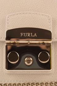 Furla | Leren schoudertas Metropolis Mini | naturel  | Afbeelding 6
