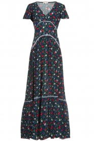 Kocca |  Floral maxi dress Bolivia | print  | Picture 1