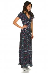 Kocca |  Floral maxi dress Bolivia | print  | Picture 4
