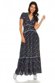 Kocca |  Floral maxi dress Bolivia | print  | Picture 2