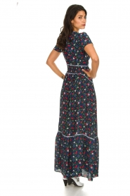Kocca |  Floral maxi dress Bolivia | print  | Picture 5