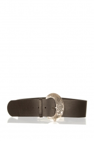 ba&sh |  Belt buckle Benita | black  | Picture 1