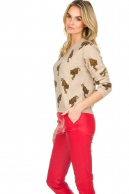 Not Shy | Cashmere sweater Loes | beige  | Picture 5