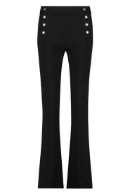Aaiko |  Flared trousers Solla | black  | Picture 1