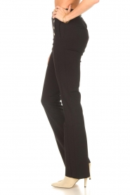 Aaiko |  Flared trousers Solla | black  | Picture 5