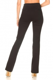 Aaiko |  Flared trousers Solla | black  | Picture 6
