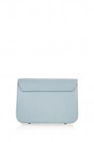 Furla   Leren schoudertas Metropolis Mini   grijs blauw    Afbeelding 4