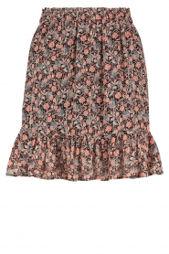 Aaiko    Skirt with floral print Mabel   black     Picture 1
