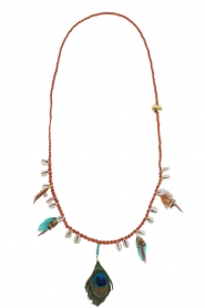 Necklace Layla | brown
