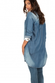 Blouse dress Kae | blue