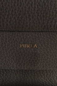 Furla |  Leather shoulderbag Carpriccio | black  | Picture 5