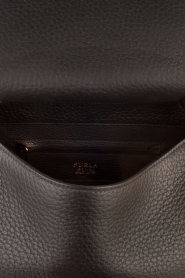 Furla |  Leather shoulderbag Carpriccio | black  | Picture 6