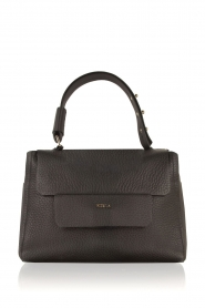 Furla |  Leather shoulderbag Carpriccio | black  | Picture 1