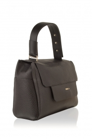 Furla |  Leather shoulderbag Carpriccio | black  | Picture 3