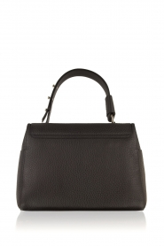 Furla |  Leather shoulderbag Carpriccio | black  | Picture 4