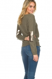 Not Shy | Cashmere sweater Charlotte | green  | Picture 5