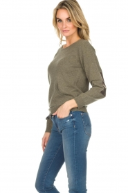 Not Shy | Cashmere sweater Charlotte | green  | Picture 4
